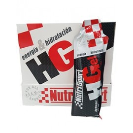 Comprar Geles Energéticos NUTRISPORT - HGEL - HIDRO GEL marca NutriSport. Precio 33,50€
