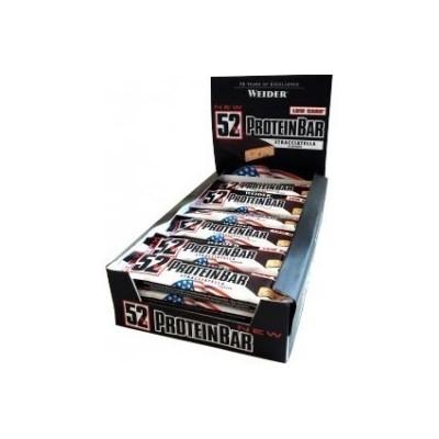 Comprar Barritas de Proteína WEIDER - 52% PROTEIN BAR 24* 50 GR. marca Weider. Precio 50,60€