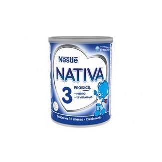 Comprar Infantil NATIVA - 3 ALIMENTACIÓN PARA BEBES DE 1 AÑO marca Nestle. Precio 8,39€