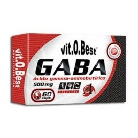 Comprar Vitaminas VITOBEST - GABA 500MG 60CAPS marca VitOBest. Precio 9,99€