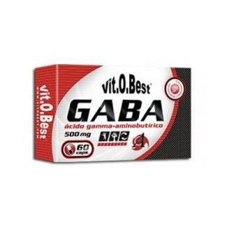 Comprar Vitaminas VITOBEST - GABA 500MG 60 CAPS marca VitOBest. Precio 10,90€