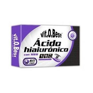 Comprar Colágeno y Articulaciones VITOBEST - ÁCIDO HIALURÓNICO 60CAPS marca VitOBest. Precio 26,90€
