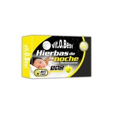 Comprar Vitaminas VITOBEST - HIERBAS DE LA NOCHE - 60 CAPS marca VitOBest. Precio 14,90€