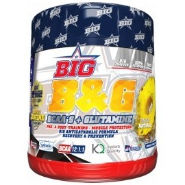 Comprar Glutamina + BCAA´S BIG - BCAAS + GLUTAMINA marca Big. Precio 36,75 €