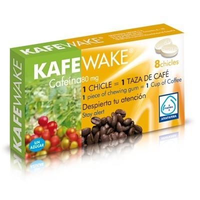 Comprar Energéticos ARAFARMA - KAFEWAKE CHICLES CAFEINA marca ARAFARMA. Precio 3,80€