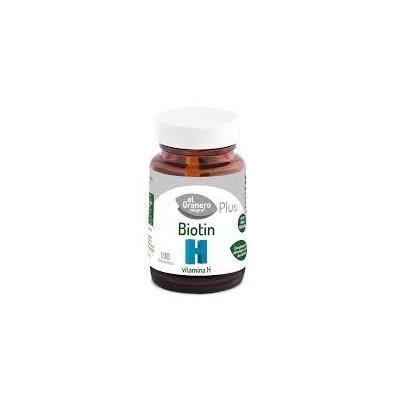 Comprar Vitaminas Minerales y Antioxidantes EL GRANERO INTEGRAL - BIOTIN VITAMINA H BIOTINA - 100 SERVICIOS marca El Granero ...