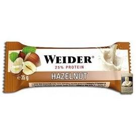 Comprar Barritas de Proteína WEIDER - 25% PROTEIN BAR marca Weider. Precio 30,96€