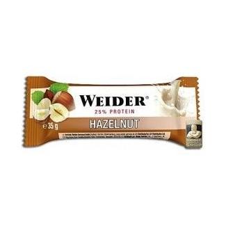 Comprar Barritas de Proteína WEIDER - 25% PROTEIN BAR - 24 BARRITAS * 35 GR marca Weider. Precio 30,96€