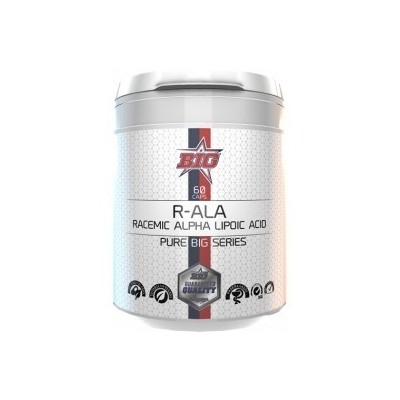 Comprar Detox & Depur BIG - PHARMA GRADE R-ALA ACIDO ALFA LIPOICO RACEMICO 60 CAPS marca Big. Precio 17,90€