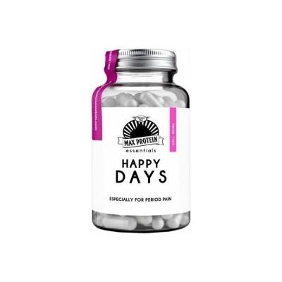 Comprar Vitaminas MAX PROTEIN ESSENTIALS - HAPPY DAYS - REGULADOR HORMONAL 60 CAPSULAS marca Max Protein. Precio 13,94€