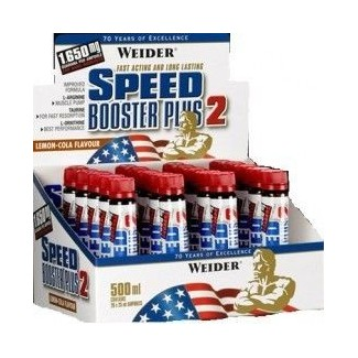 Comprar Pre-Entrenos WEIDER - SPEED BOOSTER PLUS 2 - 20 VIALES * 25 ML marca Weider. Precio 36,99€