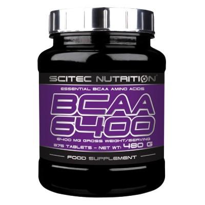 Comprar BCAA´S SCITEC - BCAA 6400 375 TABS marca Scitec Nutrition. Precio 18,42€