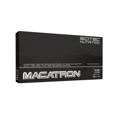 Comprar Testosterona SCITEC - MACATRON 108 CAPS marca Scitec Nutrition. Precio 19,20€