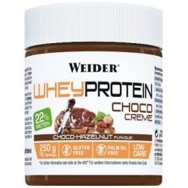 Comprar Cremas y Mantequillas WEIDER - WHEY PROTEIN CHOCO CREAM 250 GR marca Weider. Precio 4,67€