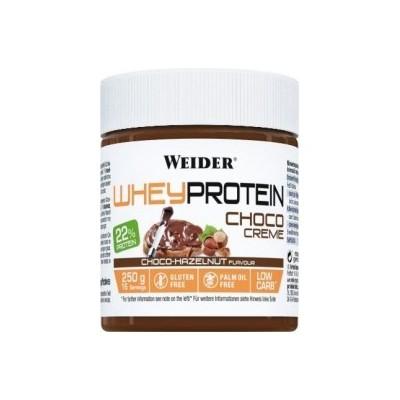 Comprar Cremas y Mantequillas WEIDER - WHEY PROTEIN CHOCO CREAM 250 GR marca Weider. Precio 5,49€