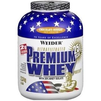 Comprar Aislado de Proteína WEIDER - PREMIUM WHEY PROTEIN - 2,3 KG marca Weider. Precio 67,99€