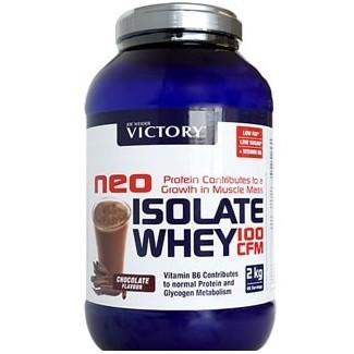 Comprar Aislado de Proteína VICTORY - NEO ISOLATE WHEY 100 CFM - 2 KG marca Victory. Precio 67,99€