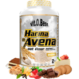 Comprar Harina de Avena VITOBEST - HARINA DE AVENA 2Kg marca VitOBest. Precio 8,89€