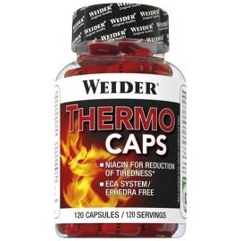 Comprar Quemadores Termogénicos WEIDER - THERMO CAPS 120 CAPSULAS marca Weider. Precio 25,49€