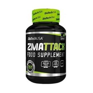 Comprar Testosterona BIOTECHUSA - ZMATTACK 60 CAPS marca BioTechUSA. Precio 12,50€