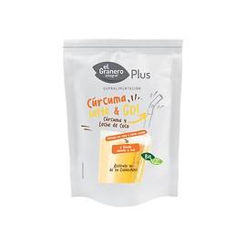 Comprar Vitaminas EL GRANERO INTEGRAL - CURCUMA LATTE & GO BIO 200 g marca El Granero Integral. Precio 10,00€