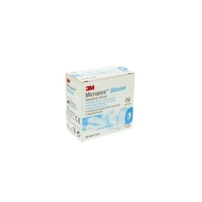 Comprar Botiquín 3M Micropore Silicone 2,5cm x 5m marca 3M. Precio 6,45€