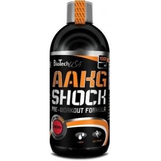 Comprar Pre-Entrenos BIOTECHUSA - AAKG SHOCK - PRE-ENTRENO 1 L marca BioTechUSA. Precio 29,61€