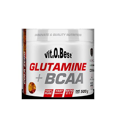 Comprar Glutamina + BCAA´S VITOBEST - GLUTAMINA + BCAA COMPLEX 1 KG marca VitOBest. Precio 60,90€