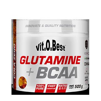 Comprar Glutamina + BCAA´S VITOBEST - GLUTAMINA + BCAA COMPLEX 1 KG marca VitOBest. Precio 59,90€