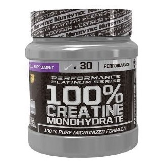 Comprar Creatina NUTRYTEC - PERFORMANCE PLATINUM SERIES - 100% CREATINE MONOHYDRATE 300 GR marca Nutrytec. Precio 9,00€