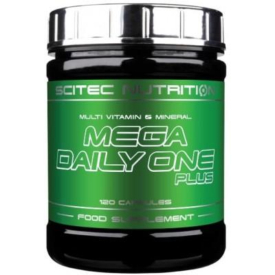 Comprar Vitaminas SCITEC - MEGA DAILY ONE PLUS - MULTIVITAMINICO 120 CAPS marca Scitec Nutrition. Precio 14,99€