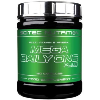 Comprar Vitaminas SCITEC - MEGA DAILY ONE PLUS - MULTIVITAMINICO 120 CAPS marca Scitec Nutrition. Precio 14,99 €