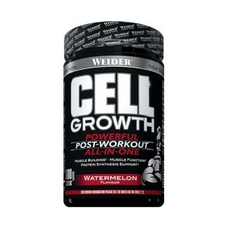 Comprar Post-Entrenos WEIDER - CELL GROWTH 600 GR marca Weider. Precio 36,99 €