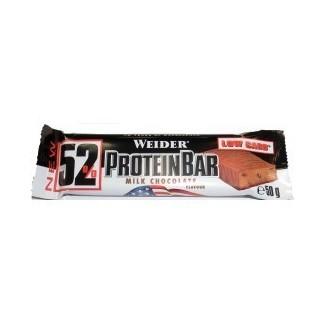 Comprar Barritas de Proteína WEIDER - 52% PROTEIN BAR 1*50 GR marca Weider. Precio 2,60€