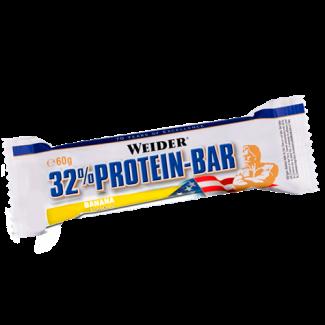 Comprar Barritas de Proteína WEIDER - 32% PROTEIN BAR 1*60 GR marca Weider. Precio 2,09€