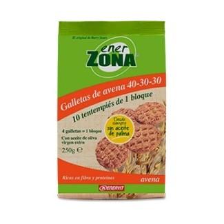 Comprar Cookies - Galletas ENERZONA GALLETAS 40-30-30 DE AVENA 250 GR marca Enerzona. Precio 5,17€