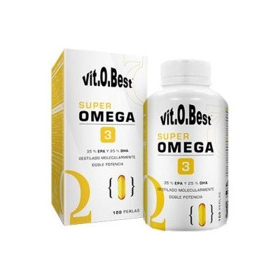 Comprar Vitaminas VITOBEST - SUPER OMEGA 3  100 PERLAS marca VitOBest. Precio 17,90€