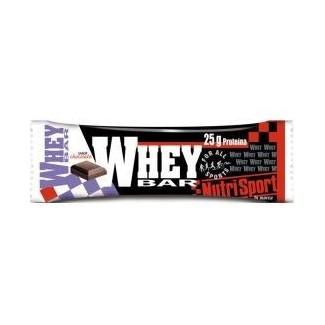Comprar Barritas de Proteína NUTRISPORT - WHEY BAR 1 BARRITA * 80 GR marca NutriSport. Precio 2,47€
