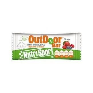 Comprar Barritas de Proteína NUTRISPORT - BARRITA OUTDOOR 1 BARRITA * 40 GR marca NutriSport. Precio 1,25€