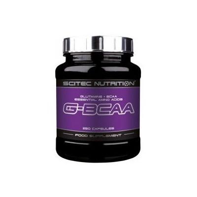 Comprar Glutamina + BCAA´S SCITEC - GBCAA 250 CAPS marca Scitec Nutrition. Precio 24,90€