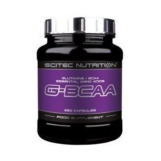 Comprar Glutamina + BCAA´S SCITEC - G-BCAA 250 CAPS marca Scitec Nutrition. Precio 24,90€