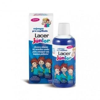 Comprar Bucal LACER JUNIOR COLUTORIO PRE-CEPILLADO 500ML marca Lacer. Precio 3,61€