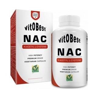 Comprar Aminoácidos Esenciales VITOBEST - NAC - (N-ACETIL L-CISTEINA) 300MG 100 VCAPS marca VitOBest. Precio 10,90€