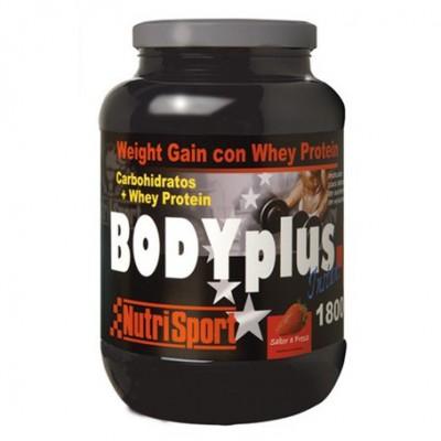 Comprar Hidratos de Carbono NUTRISPORT - BODY PLUS 1800 GR marca NutriSport. Precio 40,05€