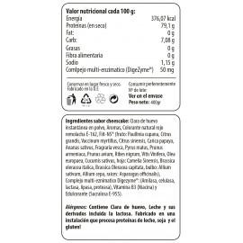Comprar Proteínas de Huevo MAX PROTEIN - EGG PROTEIN - CLARAS DESHIDRATADAS 400 GR marca Max Protein. Precio 17,41€