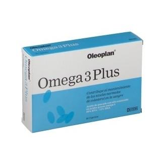 Comprar Vitaminas Minerales y Antioxidantes OLEOPLAN - OMEGA 3 PLUS 60 CAPS marca . Precio 11,61€