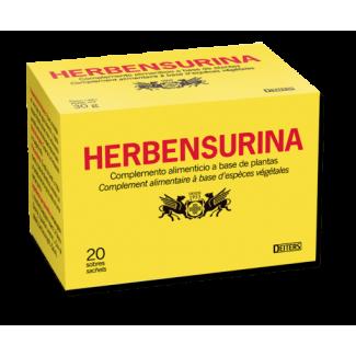Comprar Vitaminas Minerales y Antioxidantes DEITERS - HERBENSURINA – COMPLEMENTO ALIMENTICIO PARA INFUSIÓN – BIENESTAR VÍAS U...