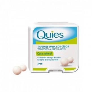 Comprar Botiquín QUIES TAPONES OÍDOS CERA NATURAL 16 UNIDADES marca DEITERS. Precio 3,61€