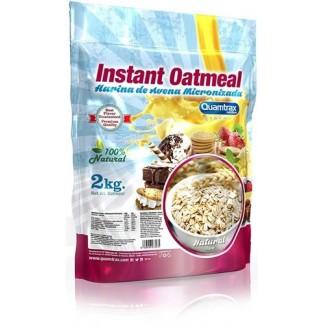 Comprar Hidratos de Carbono QUAMTRAX - INSTANT OATMEAL - HARINA DE AVENA 2 KG marca Quamtrax. Precio 10,50€