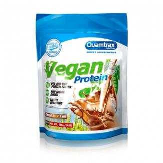 Comprar Proteínas Veganas QUAMTRAX - VEGAN PROTEIN 500G marca Quamtrax. Precio 14,90€